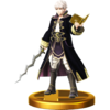 Robin trophy from Super Smash Bros. for Wii U