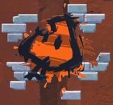 Graffiti of a Super Leaf in Super Mario 3D World + Bowser's Fury