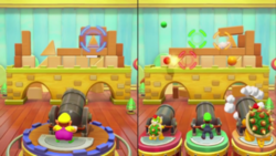Block and Load minigame from Super Mario Party