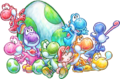Group artwork - Yoshi's New Island.png