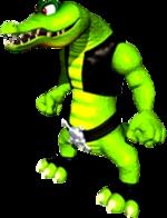 Artwork of Kritter for Donkey Kong 64
