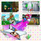 Preview for a Play Nintendo opinion poll on which special ability one would use to help Mario and Luigi in Mario & Luigi: Paper Jam. Original filename: <tt>1x1-MLPJ_being_paper-2.a25bebd1df8bcaf6cbdb5ccdfed3251d112173d9.jpg</tt>