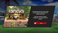 Version 3.1.0 announcement for the addition of Shy Guy Train Tussle in Swing Mode