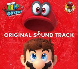 Sleeve case cover for the Super Mario Odyssey Original Soundtrack.