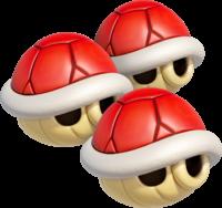 Triple Red Shells in Mario Kart 8