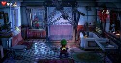 The Water Tank Bathroom in Luigi's Mansion 3