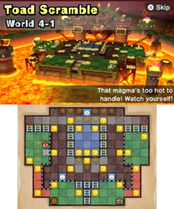 World 4-1 from Mario Party: Star Rush