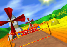 Windmill Plains, from Diddy Kong Racing.