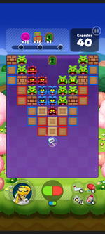 Stage 543 from Dr. Mario World