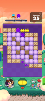 Stage 591 from Dr. Mario World