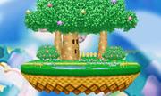 Dream Land in Super Smash Bros. for Nintendo 3DS.