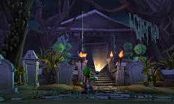 Graveyard Shift from Luigi's Mansion: Dark Moon