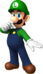 Artwork of Luigi from Mario Party: Island Tour (also used in Mario Kart Tour)