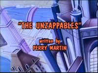 The Unzappables Title Screen