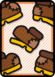 A Worn-Out Jump ×5 Card in Paper Mario: Color Splash.