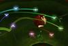 A screenshot from Donkey Kong Jungle Beat showcasing Combo Fairies