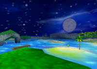 Darkwater Beach, from Diddy Kong Racing.
