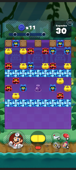 Stage 327 from Dr. Mario World