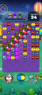 Stage 643 from Dr. Mario World