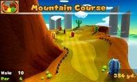 Hole 10 of Mountain Course in Mario Golf: World Tour