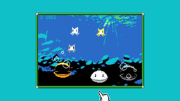 Microgame Ikachan of the category Big Name Games, made by Pixel