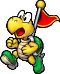 Captain Koopa Troopa in Mario & Luigi: Superstar Saga + Bowser's Minions.