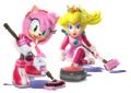 Princess Peach - Amy Artwork - Mario & Sonic Sochi 2014.png