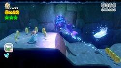 Rammerhead Reef from Super Mario 3D World.
