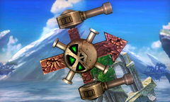 A Roturret in Super Smash Bros. for Nintendo 3DS
