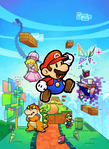 Artwork for Super Paper Mario, used in the American and Australian boxarts.