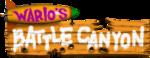 Logo for Wario's Battle Canyon