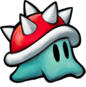 Artwork of a Spike Blop from Mario & Luigi: Bowser's Inside Story + Bowser Jr.'s Journey