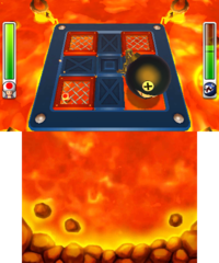 Chain Chomp's Lava Lunge from Mario Party: Island Tour