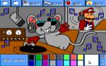 "Mouser as a Disc Jocky<sup class=""noprint"">&#91;sic&#93;</sup>"