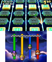 Flip Out in Mario Party: Island Tour