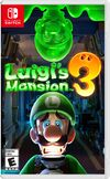 The front cover of Luigi's Mansion 3