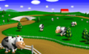 The icon for Moo Moo Farm, from Mario Kart 64.