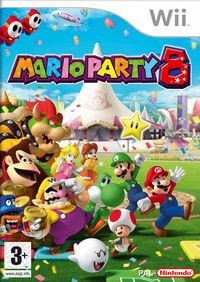 European Box Art of Mario Party 8.