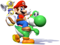 Mario and Yoshi SMS.png