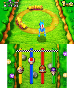 Quickest Cricket from Mario Party: Island Tour