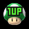 SMM2 1 Up Mushroom NSMBU icon.png