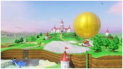 The Mushroom Kingdom in Super Mario Odyssey.