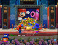 The Star Carnival Stage in Mario Party 8