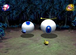 Eyebrawl in Mario Party 8