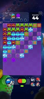 Stage 308 from Dr. Mario World since version 2.0.0