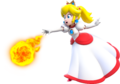 Fire Princess Peach Artwork - Super Mario 3D World.png