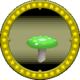 A figure of a Green Mushroom.
