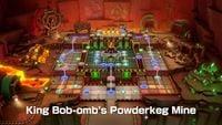 King Bob-omb's Powderkeg Mine Board