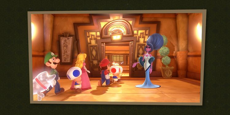 Picture shown with the third question in Luigi's Mansion 3 Trivia Quiz