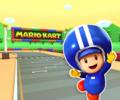 SNES Mario Circuit 1 from Mario Kart Tour